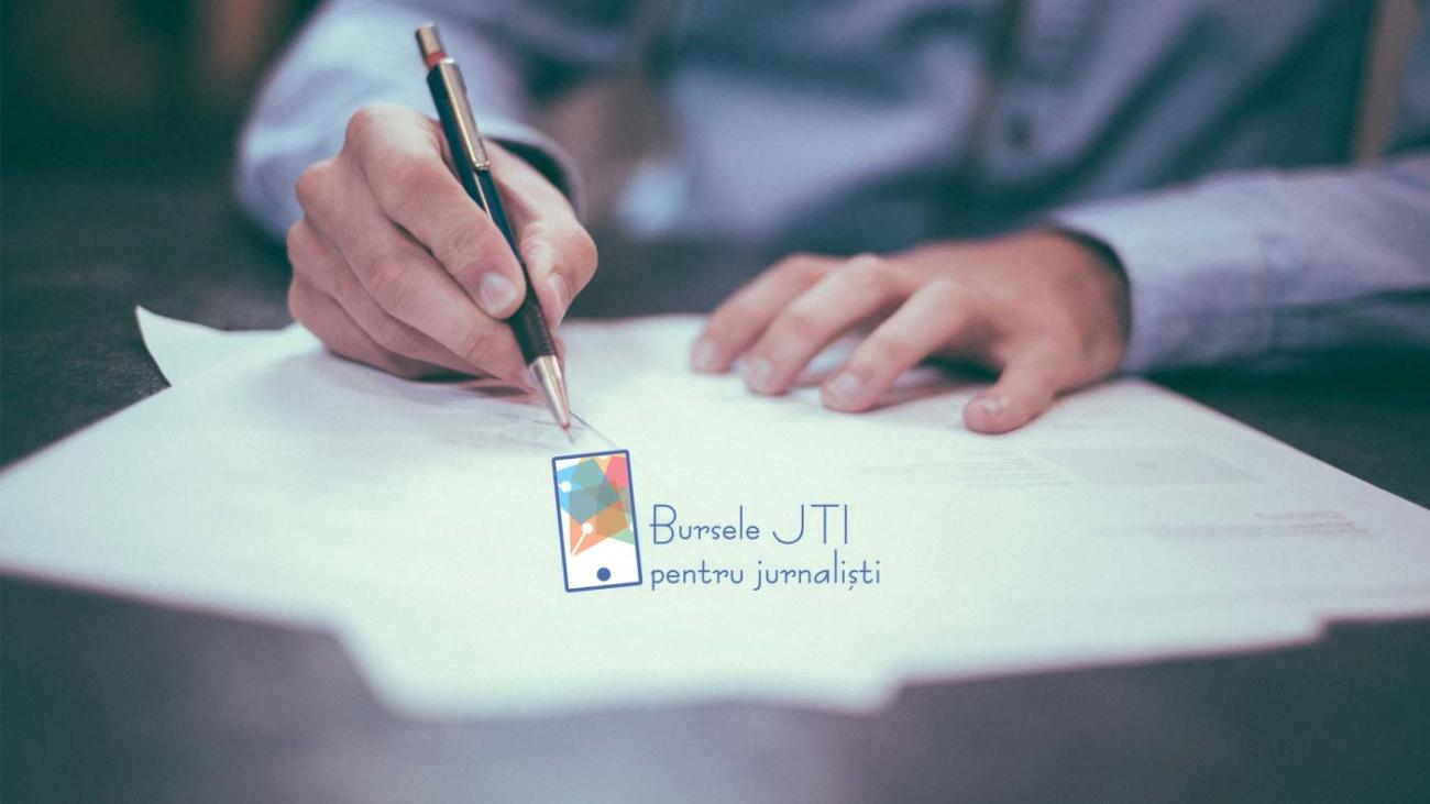comunicat de presa bursele jti pentru jurnalisti 2019 - 2020